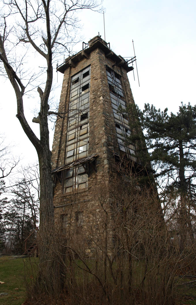 Rye Cliff Tower - Ramapo Mountains