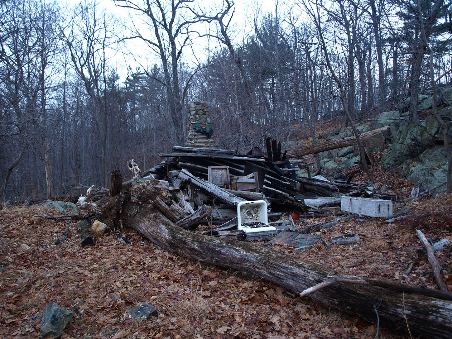 Wrecked Cabin