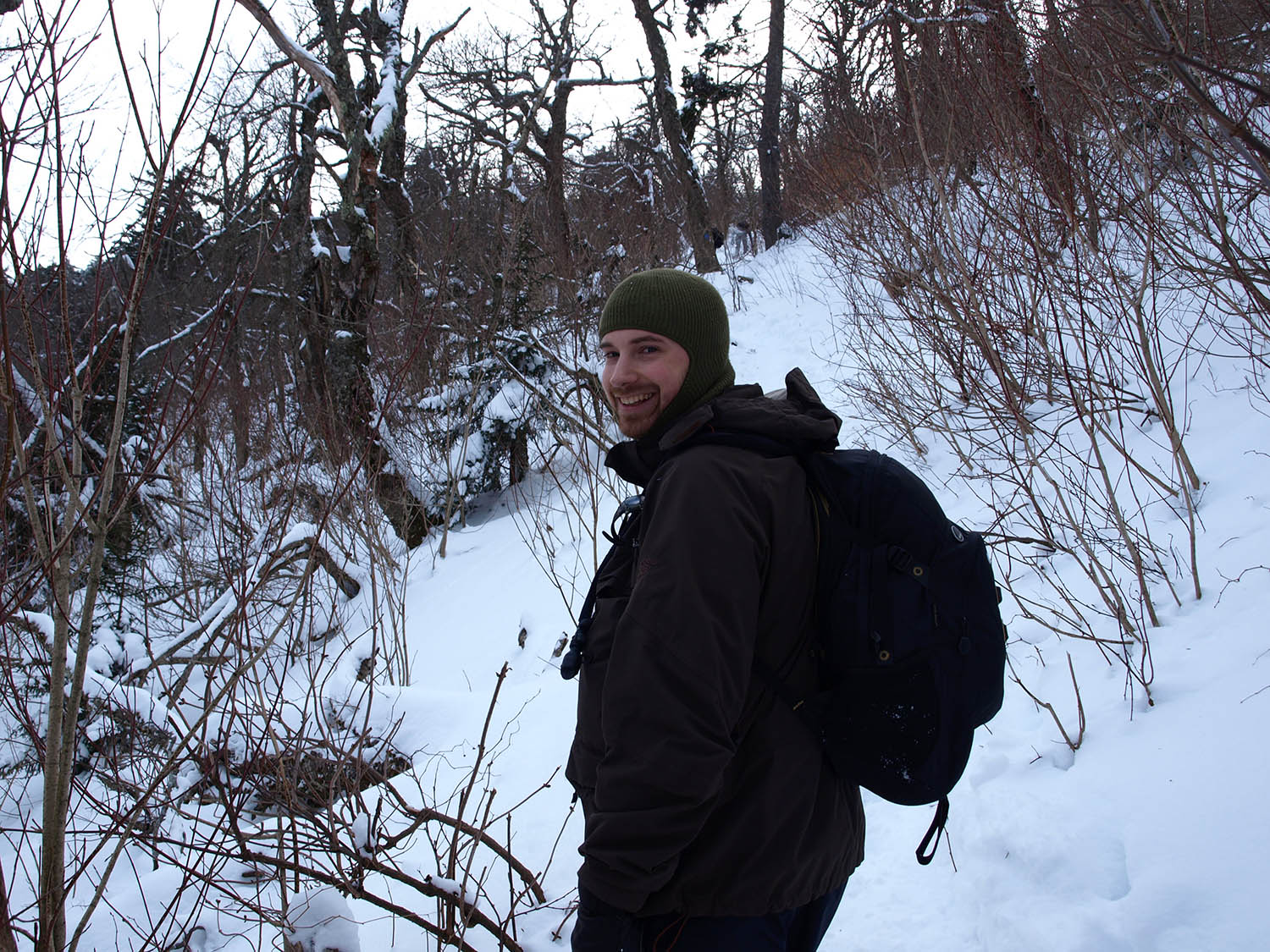 Darian on Becker Hollow Trail