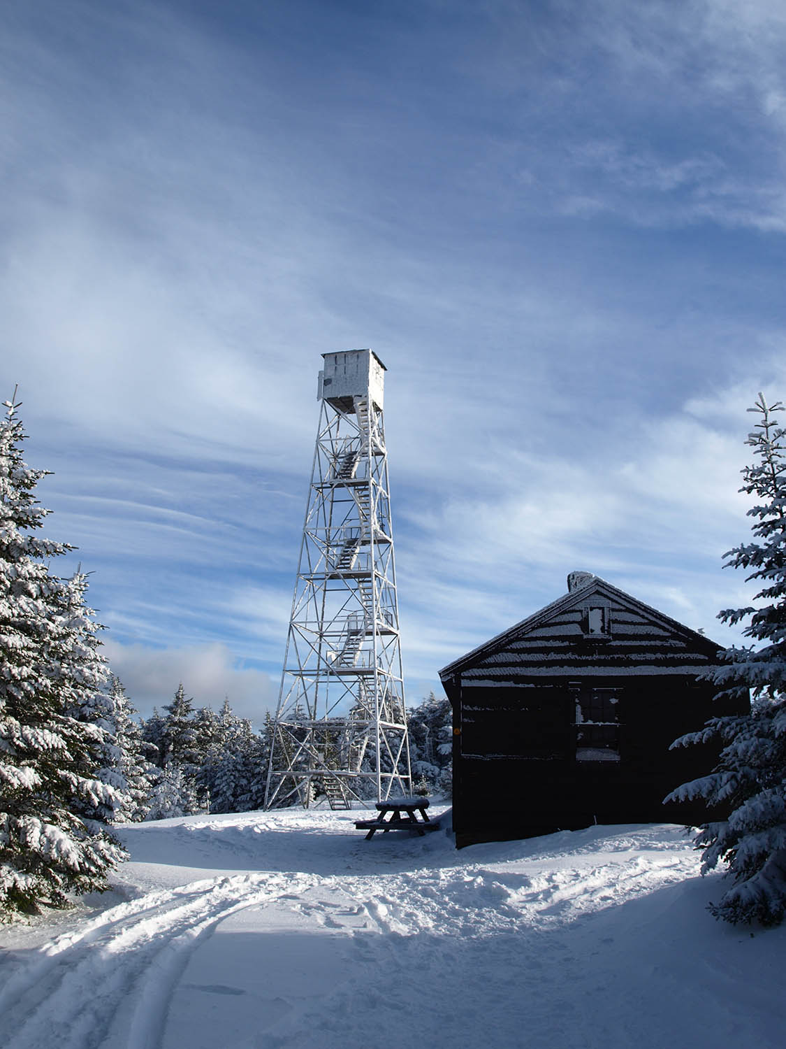 Hunter Mountain Tower and Cabin