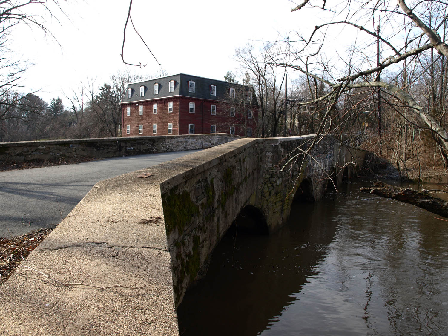 Kingston Mill and Bridge