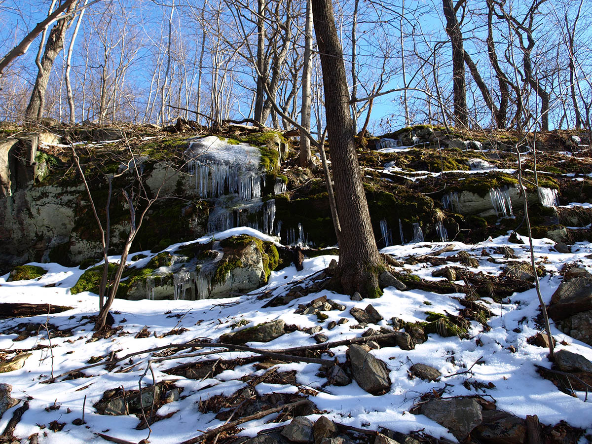 Ramapo Mountain Icicles