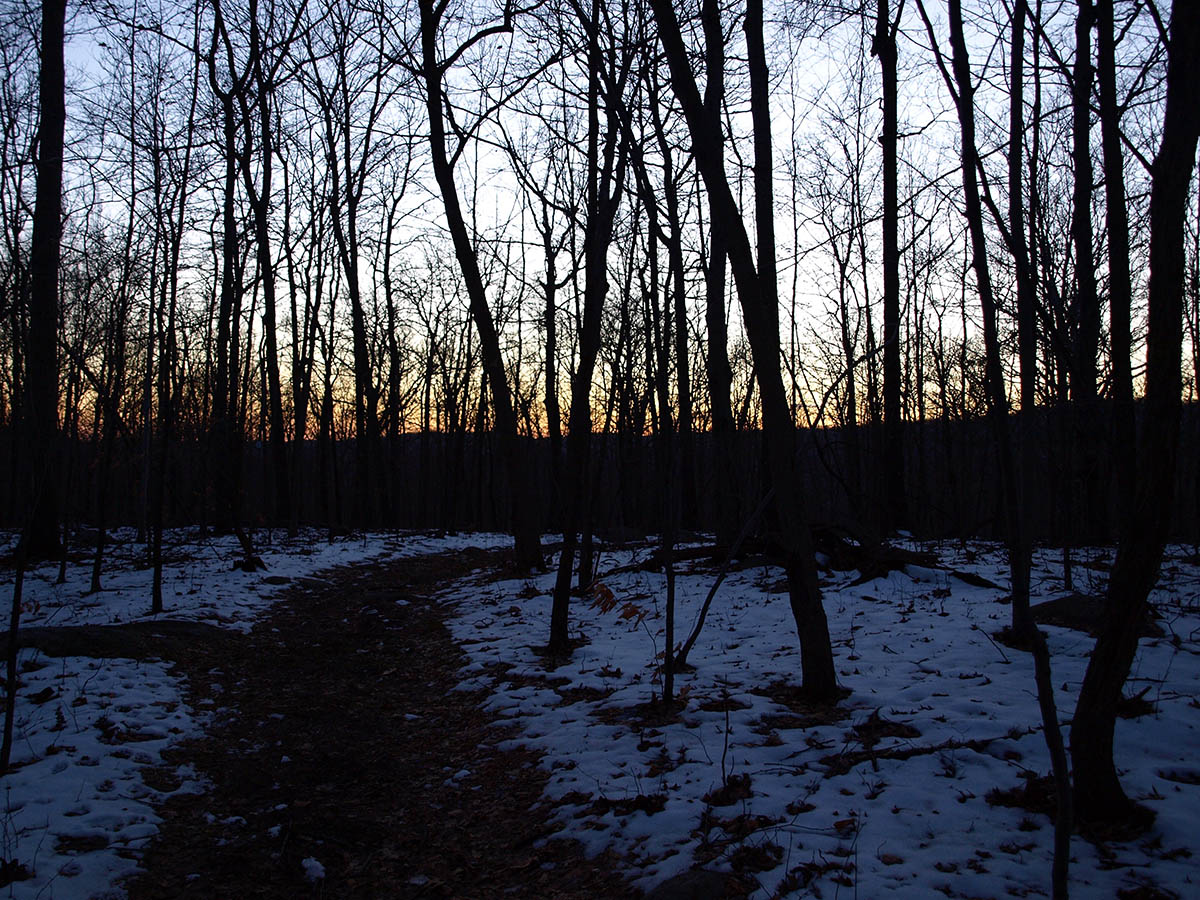 Ramapo Mountains Sunset