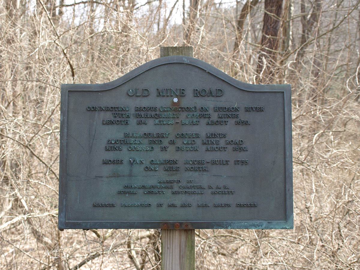 Pahaquarry Incorrect Historic Marker