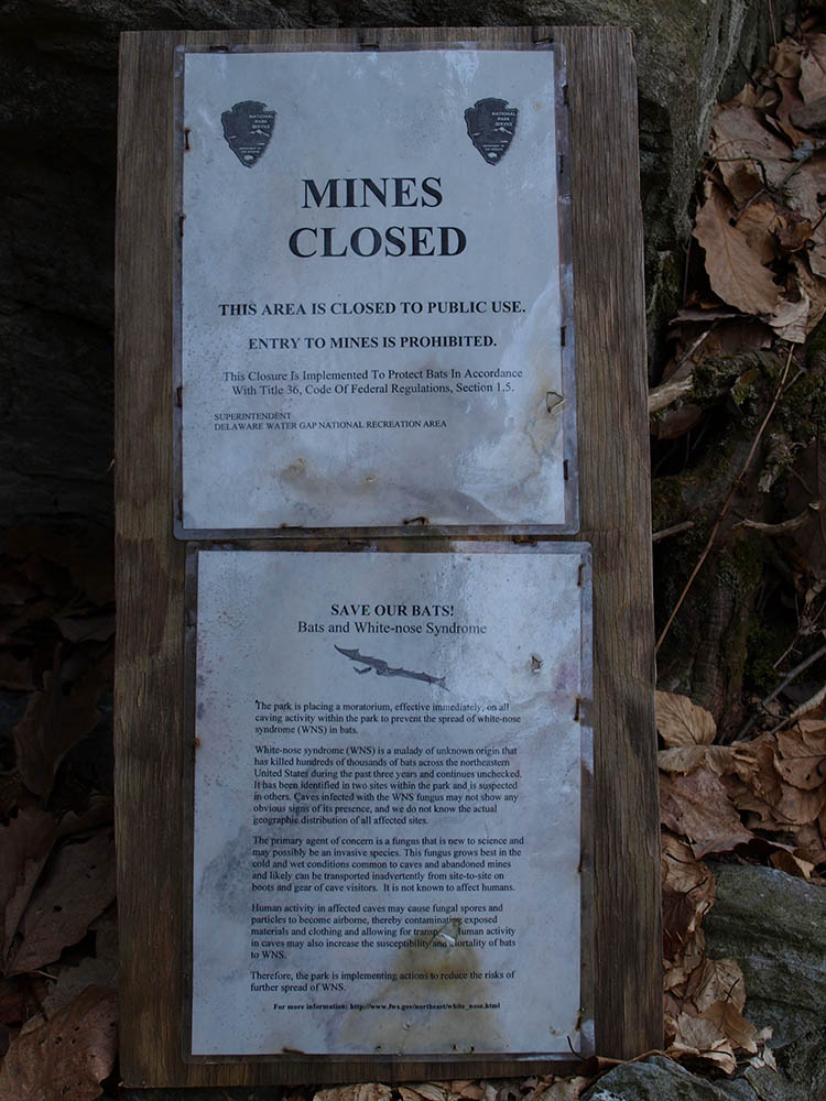 Pahaquarry Mine Sign