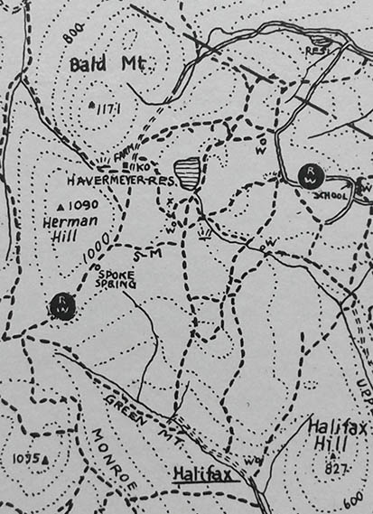 Old Ramapo Map